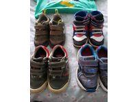 Bundle of Boys 2-3 clothes, clarks shoes size 7, jacket etc...