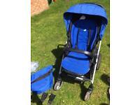 Joie chrome Plus lightweight pushchair
