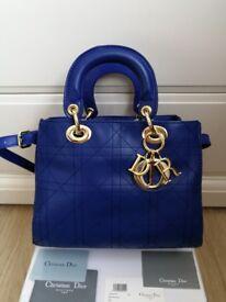 Lady Dior Bag Genuine Leather Luxury Women's Handbag