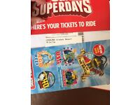 2x Tickets for Legoland Windsor Valid on 11.07.18
