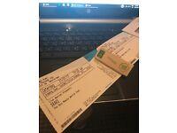 2 x Drake concert Tickets AMSTERDAM 27/01/17 Golden Circle