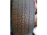 285 45 19 tyres x2 nearly new