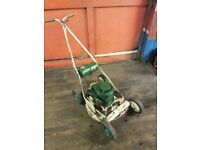 """Vintage Early 1960s 18"""" Atco Petrol Rotary Lawnmower"""