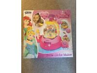 Disney princess snow globe maker