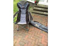 2x Higear kentucky chairs and 2x sunloungers £10 each