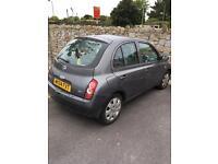 Nissan Micra 2004 *£30 road tax*