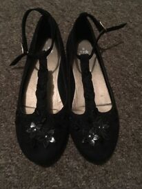 Next girls party shoes size 1