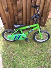 "Trax 14"" children's bike"