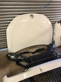 Volkswagen scirocco 09-2014 front end parts breaking bonnet bumper headlights rad pack 1.4 tsi