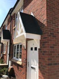 New GRP Door Canopy