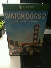 Watch Dogs San Francisco Edition. NEW & SEALED. Xbox One.