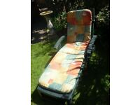 Two Aquarius garden loungers