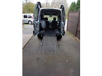 Adapted wheelchair accessible vehicle renault kangoo
