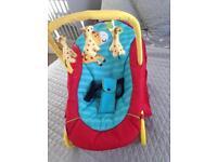 Baby chair rocker bouncer