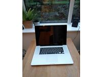 17 inch Mac Book Pro, 16GB RAM, 250GB SDD, 750GB HDD