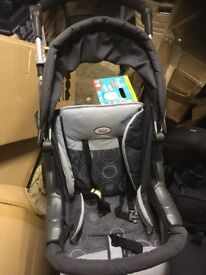 Child's buggy, complete with separate car seat in great condition
