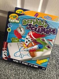 Crayola Scribble Scramble Board Game