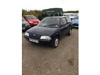 Diesel CITREON ax rare car lady owned for years no mot very economical power steering very clean