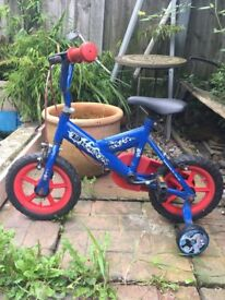 "Boys 12"" Dragon Bike"