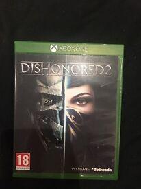 Dishonoured 2 Xbox one