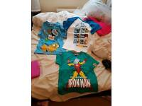 Brand new boys age 6-7 tops