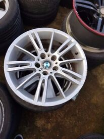Bmw Mv3 Single 18'' FRONT 8J or REAR 8.5j Wheel No Cracks No Welds Can Post