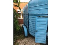 WANTED secure storage for horse trailer