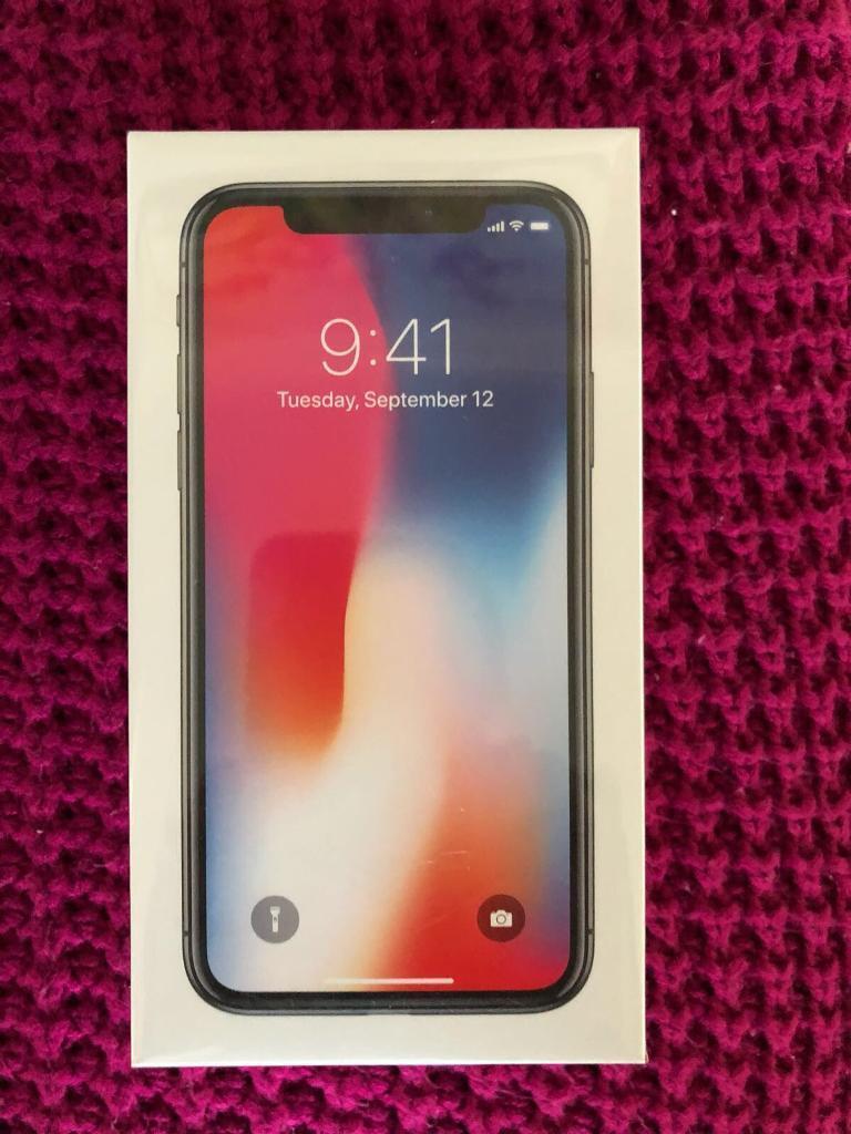 I Phone x 64gig.space grey..brand new