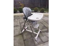 Mamas And Papas Reclining, Multi-height, Foldable Highchair