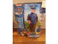 Chase paw patrol costume - BNWT