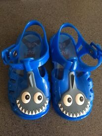 Kids boys jelly shoes