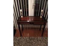 ***Elegant dark wood Console Table - MINT!!!