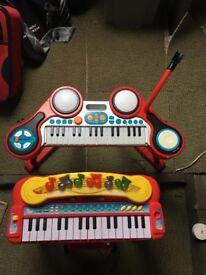 2 keyboards