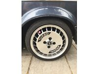 "Ronal R10 Turbo 15"" alloy wheels. Will come with the 185/45 tyres"