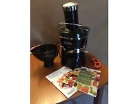 Jack LaLanne juicer With all original parts including blade key and recipe books