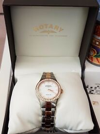 Womens Rotary Watch Rose Gold