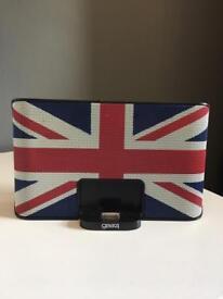 iPod / iPhone speaker dock Gear4 - special edition Union Jack
