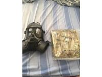 Army issue gas mask