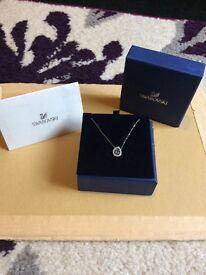 Swarovski Silver Necklace.
