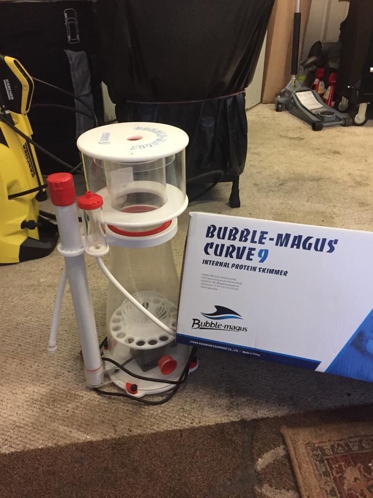 Bubble Magus Curve 9 Protein Skimmer, marine, fish tank, aquarium