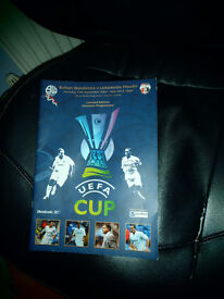 Football programme,BWFC limited edition European Cup,featuringJay Jay,Campo etc