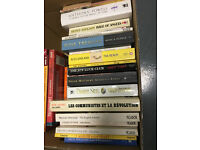 Box of 42 fiction books in good condition