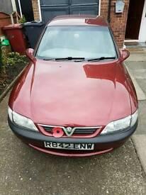 Vauxhall vectra low mileage