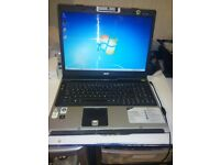 Acer Aspire 9305 17inch Laptop: Webcam,Dual Core 1.70Ghz :150GB,2GB RAM :Win 7 Activated Office 2007