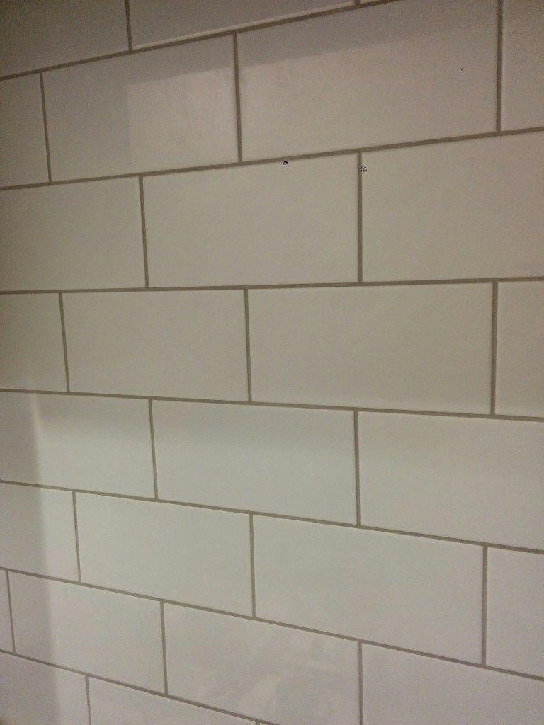 White ceramic wall tiles 10cm x 20cm | in New Town, Edinburgh | Gumtree