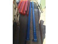 Pallet Racking / Longspan Shelving Racking Joblot 11 Beams 1 Upright