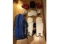 Full cricket kit (grey-nicolls and Slazenger)