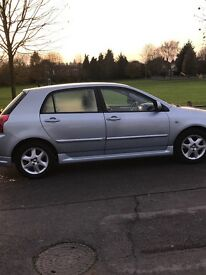 Toyota Corolla 1.4 petrol for sale 1 year mot with full service history in excellent condition