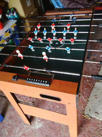 Football / Games table