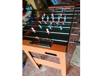 Football / Games table
